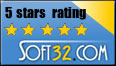 IBE Barcode Studio Received Soft32 5 Star Rating